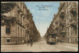 Wiesbaden 1486 Rue Maurice Maritzstrasse Strassenbahn - Wiesbaden