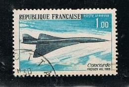 France 1969 Poste Aérienne  Y&T N°43 -  1f Oblitéré - 1960-.... Used