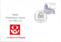 "BRD Schmuck-FDC ""Kölner Dom"", Mi. 2330  Selbstklebend ESSt 6.3.2003 BONN - FDC: Sobres"