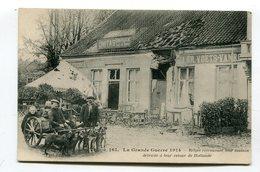 CPA  Militaria : Belges Rentrant De Hollande Avec Voiture à Chiens   A  VOIR  !!!!!!! - Guerre 1914-18