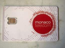 RARE   SIM GSM   MONACO  TELECOM  TOP  MINT - Monaco