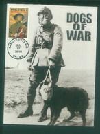 USA 2018 World War I Soldier Dog Chien Maximum Card 1V - Cani