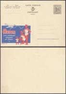 PUBLIBEL N°1292 - THEMATIQUE AVION - VÊTEMENT  (DD) DC 2175 - Publibels