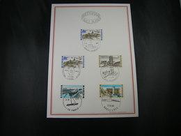 "BELG.1968 1466-1467-1468 & 1469 Serie FDC Filatelia Card  : "" Intérêt National / Nationaal Belang  "" - 1961-70"