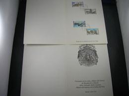 "BELG.1968 1466-1467-1468 & 1469 Serie FDC Luxe Card Espana  : "" Intérêt National / Nationaal Belang  "" - 1961-70"