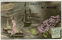 CPA - Carte Postale - Belgique - Amitié De Mons - 1912  (M7913) - Mons