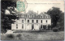 37 LIGUEIL - Château De La Tourmellière, Façade Et Entrée Principale - Francia