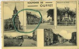 OUFFET :  Souvenir  (  Ecrit Avec Timbre ) - Ouffet