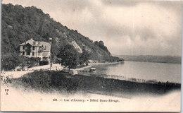 74 ANNECY - Le Lac, L'hôtel Beau Rivage - Annecy