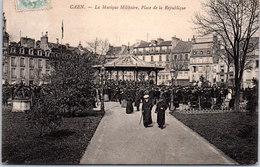 14 CAEN - La Musique Militaire, Place De La République - Caen