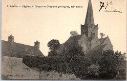 50 REVILLE - L'église, Chœur Et Chapelle Gothiques - France
