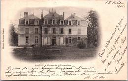 37 LIGUEIL - Château De La Tourmellière - Francia
