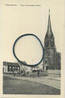 Villers-Perwin :  Place Commandant Bultot  ( Eglise ) - Les Bons Villers