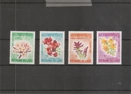 Laos - Fleurs ( 160/163 XXX -MNH) - Laos