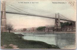17 TONNAY CHARENTE - Le Pont Suspendu Et Quai Jacob - France