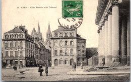 14 CAEN - Place Fontette Et Le Tribunal - Caen