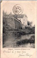 18 CHAROST - Fortifications Du Château Et Bief - Autres Communes