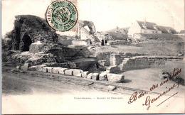 18 SAINT AMAND - Ruines De Drovant (pli Central) - Saint-Amand-Montrond
