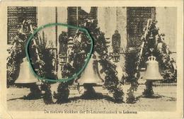 Lokeren : De Nieuwe Klokken Der St. Laurentiuskerk  ( Kaart Van Pastoor U. Bauwens ) Zie Scans - Lokeren