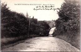 85 LES MOUTIERS LES MAUXFAITS - Route De Moricq - Moutiers Les Mauxfaits