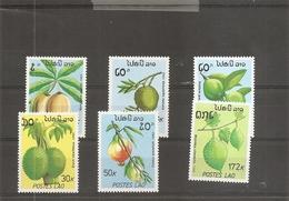Laos - Fruits ( 931/936 XXX -MNH) - Laos