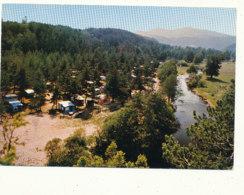43 // BAS EN BASSET / CPSM GRAND FORMAT  Camping De La Roche - Frankreich