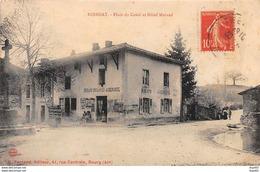 ROISSIAT - Place Du Candi Et Hôtel Morand - Très Bon état - Autres Communes