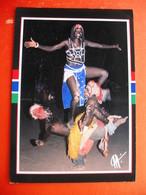 A WONDERFUL DISPLAY OF AFRICAN DANCERS - Gambia