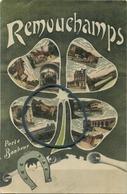 Remouchamps : Porte Bonheur   (  Ecrit  1909  Avec Timbre ) - Belgique