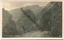 Vättis - Kunkelspass - Foto-AK - Verlag Edm. Fetzer Bad Ragaz - SG St-Gall