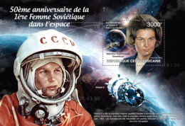 Central Africa 2013  First Soviet Woman In Space, (Valentina Tereshkova). - Central African Republic