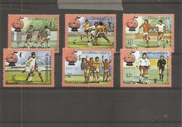 Laos - Coupe Du Monde De Football En Espagne -1982 ( 400/405 XXX -MNH) - Laos