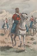 -CP-  SPAHIS- 1er REGIMENT (Maurice Toussaint)  Voir Scan - Autres Illustrateurs