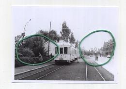 NIEUWPOORT : Stad Ancienne Situation   ( TRAM ) ( Foto Van Oude Cliché 1952 - 14 X 10 Cm ) - Nieuwpoort