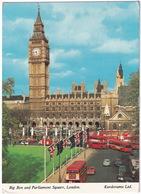 London: FORD ESCORT, AUSTIN 1100, MINI, HILLMAN IMP, AUTOBUS, DOUBLE DECK BUSES - Big Ben - Toerisme