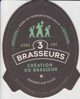 974 Sous Bock  - Brasserie La MARE STE MARIE 3 BRASSEURS   LOCALE A LA REUNION - BEER PILS BEAR BIERE - - Sous-bocks