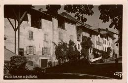 Cpsm / Carte-photo Une Rue De GUILLESTRE , Dos Vierge , TBE - Guillestre
