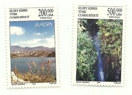 2001 - Cipro Turca 528/29 Europa - Nuovi
