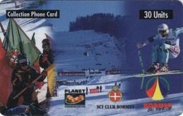*ITALIA - PLANET COMMUNICATION - BORMIO 1998* - Scheda NUOVA (MINT) (NON CATALOGATA) - Italia