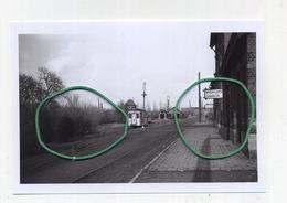 ENGHIEN : Vue De La Gare Et Des Remises   (TRAM) Photo De Vieux Cliché - Foto Van Oude Cliché 1958 (15 X 10 Cm) - Enghien - Edingen