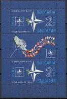 BULGARIA \ BULGARIE - 2019 - 15 Ans De Bulgarie à L'OTAN - Bl** - OTAN