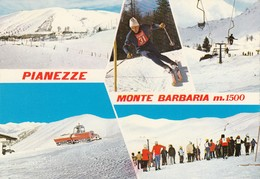 12295-PIANEZZE DI VALDOBBIADENE(TREVISO)-CAMPI DA SCI MONTE BARBARIA-FG - Treviso