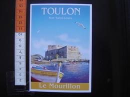 CP Carte Postale Postcard ANCIENNE AFFICHE Publicite VILLES Clouet TOULON LE MOURILLON - Cartes Postales