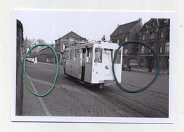 ENGHIEN : Gared SNCB     (TRAM) Photo De Vieux Cliché - Foto Van Oude Cliché 1952 (15 X 10 Cm) - Enghien - Edingen