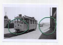 FLOBECQ : Station Vicinale   (TRAM) Photo De Vieux Cliché - Foto Van Oude Cliché 1953  (15 X 10 Cm) - Flobecq - Vloesberg