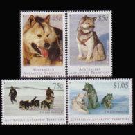 AUST.ANTARCTIC TERR. 1994 - Scott# L90-3 Dogs Set Of 4 MNH - Unused Stamps