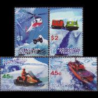 A.A.T.. 1997 - Scott# L108a-10 Transport Set Of 4 MNH - Unused Stamps