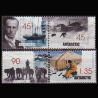 A.A.T.. 1999 - Scott# L112a-14 Mawson Exped. Set Of 4 MNH - Unused Stamps