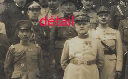 1924-Général NOLLET Reçoit Attachés Militaires étrangers- Photo Henri Manuel Format 23,8 X 17,8cm Papier Fin - Guerre, Militaire