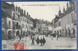 LONS-le-SAUNIER-les-BAINS    Rue Du Commerce       Animées   écrite En 1911 - Lons Le Saunier